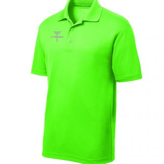 ST640 Lime Disc Golf Tournament Polo