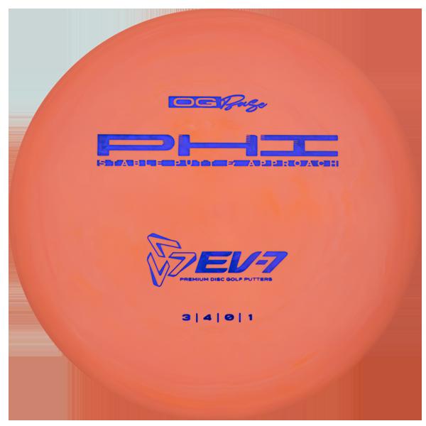 EV-7 Phi OG Base Disc Golf Putters